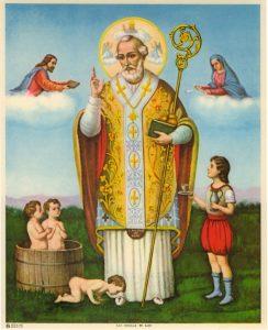 Oración para el trabajo San Nicolás de Bari