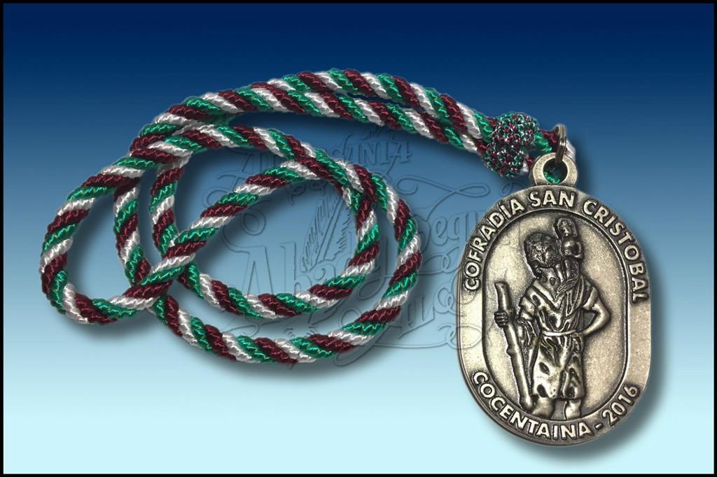 Medalla de san cristobal