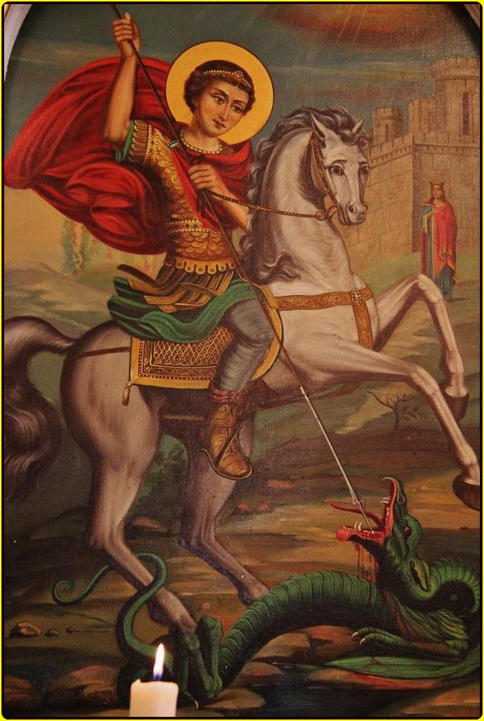 Oración a San Jorge andaré noche y día